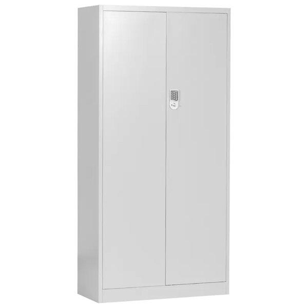 Метален шкаф CR-1282 E - сив