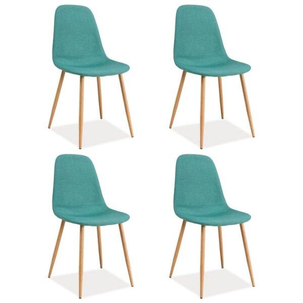 Комплект 4бр. трапезни столове Фокс