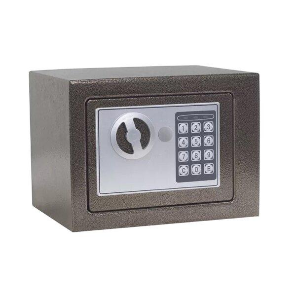 Метален сейф CR-1550-1 XZ - кафяв