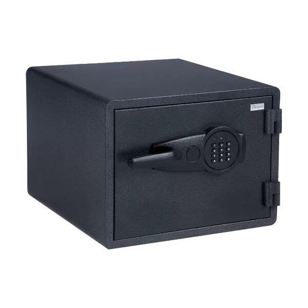 Огнеупорен метален сейф CR-1552- черен
