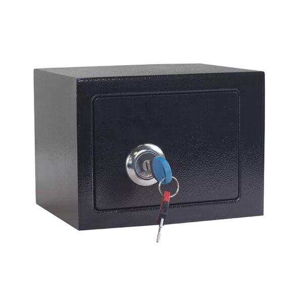 Метален сейф CR-1550-2 XZ - черен