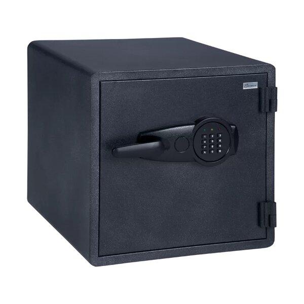 Огнеупорен метален сейф CR-1553 - черен