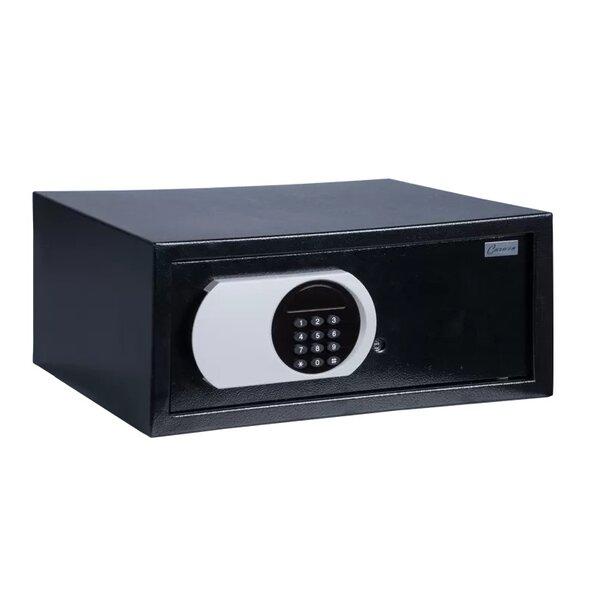 Метален сейф CR-1555 - черен