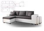 Ъглов холов диван Студио с функция сън