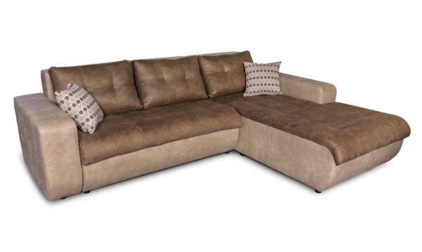 Ъглов холов диван Верона с функция сън