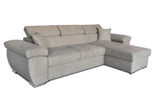 Ъглов холов диван Лаго с функция сън