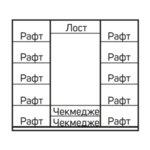 Спален комплект АЛАБАМА 160x200