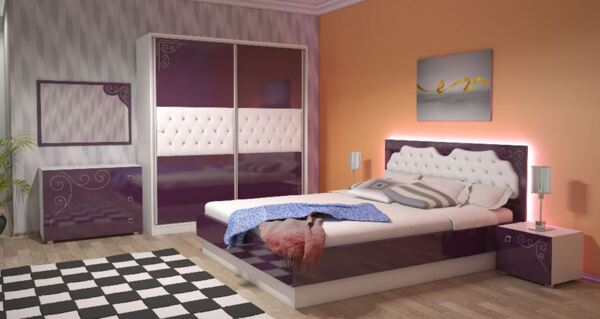 Спален комплект ГРАЦИЯ 160x200