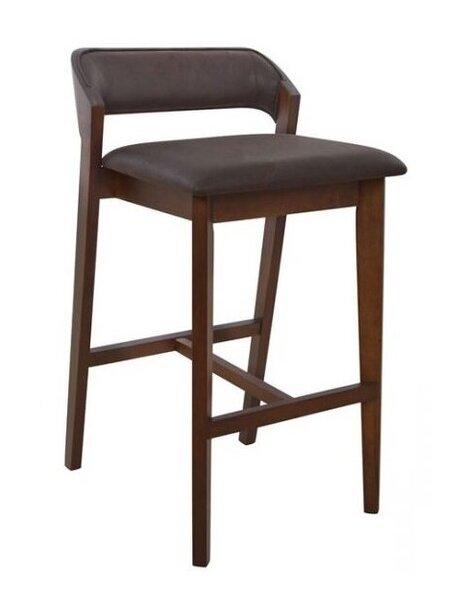 Дървен бар стол Лолита
