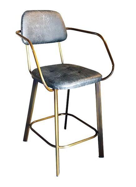 Метален бар стол TS427