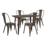 Комплект маса със столове Мето
