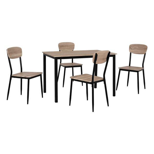 Комплект маса със столове Кейти