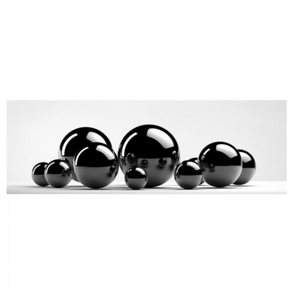 Картина черно-бял дизайн 80x30