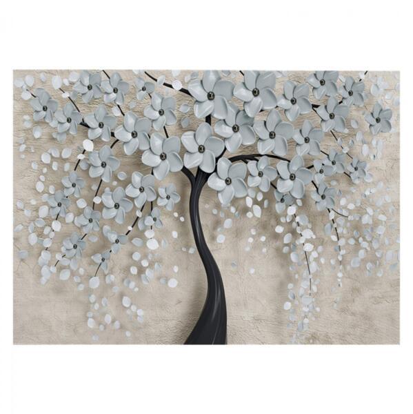 Картина в дизайн на цъфнало дърво 100x70