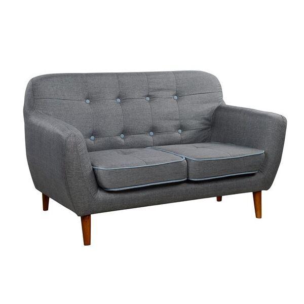 Двуместен диван Каросел в сиво