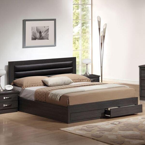 Спалня Кейт с място за съхранение 150х200