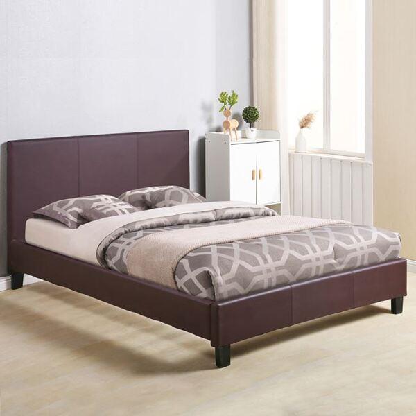 Тапицирана кожена спалня Ребека 150x200 в 2 цвята