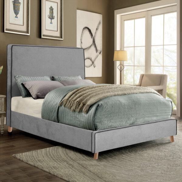 Тапицирана спалня Деница 150x200 в 2 цвята