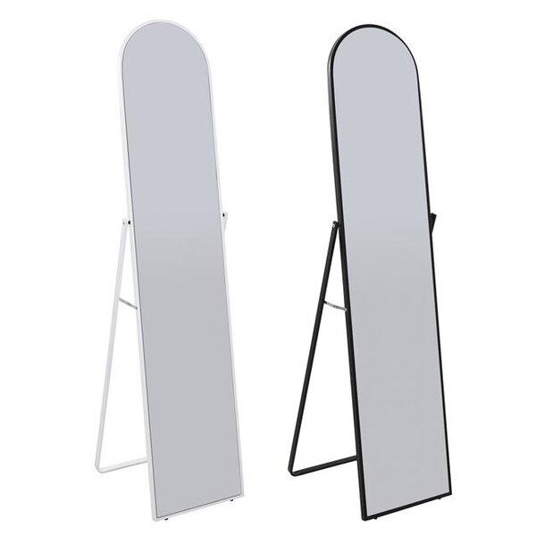 Стоящо огледало София бяло и черно