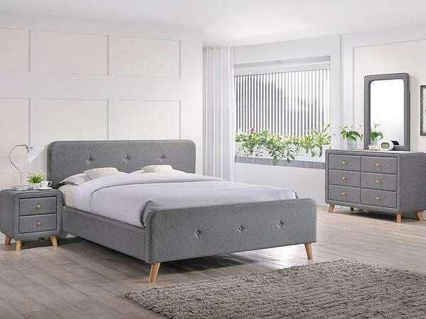 Тапицирана спалня Малмо в 3 размера