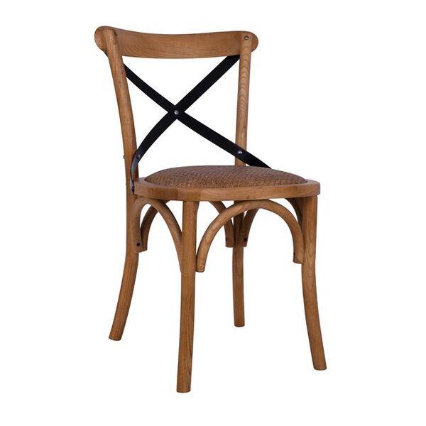 Дървен трапезен стол Форенза