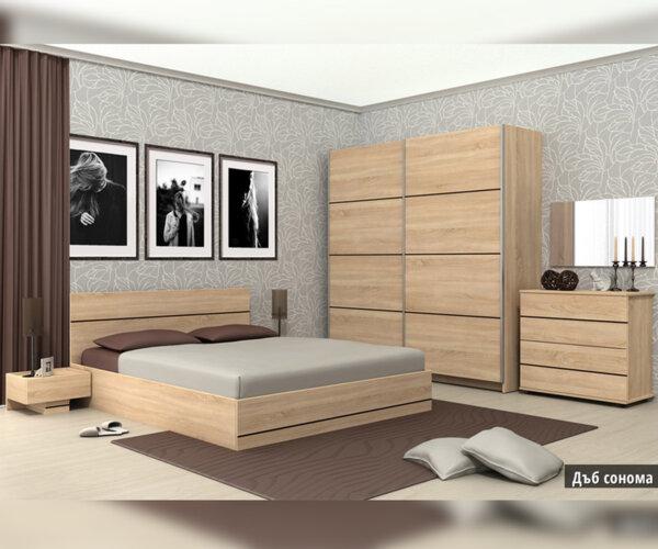 Спален комплект Камо 160X200 в 2 цвята