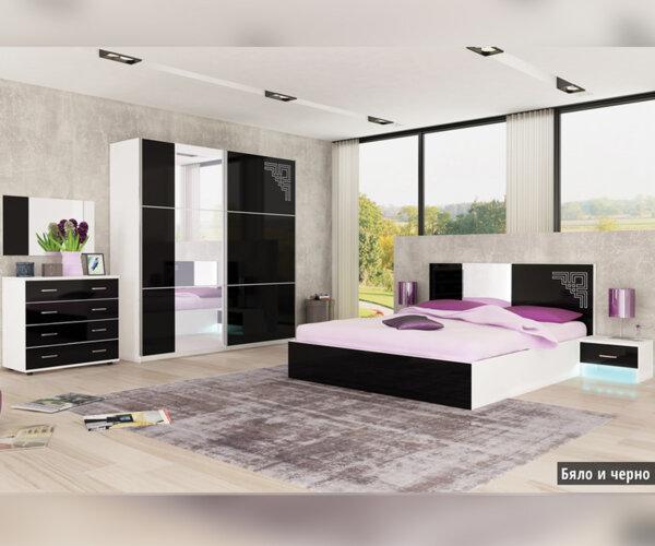 Спален комплект Кастел 160X200
