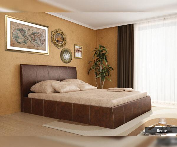 Тапицирана спалня Капри 160X200 в 4 цвята