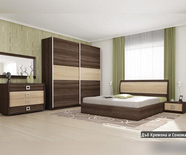 Спален комплект Дорис 160X200 в 2 цвята