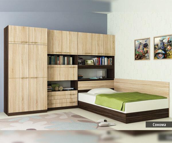Спален комплект Сексагинта Приста 120X190