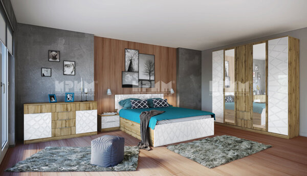Спален комплект Стилисимо 160x200