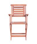 Градински сгъваем дървен стол NILS