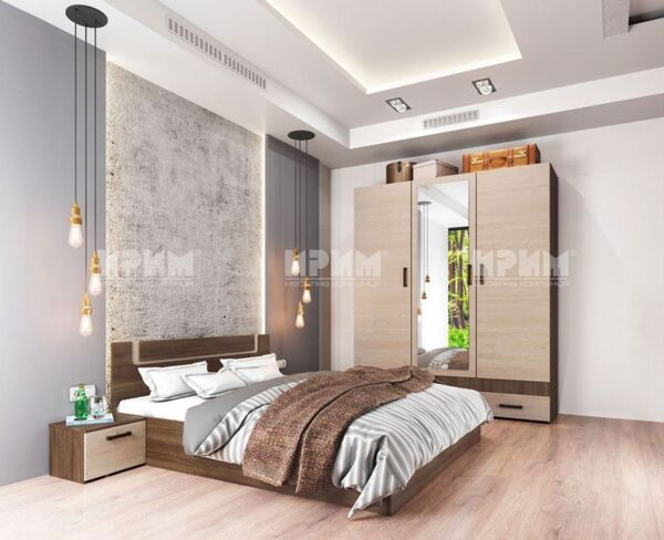 Спален комплект Сити 7038 160x200