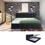 Спалня Фидел с повдигащ механизъм - 2 цвята