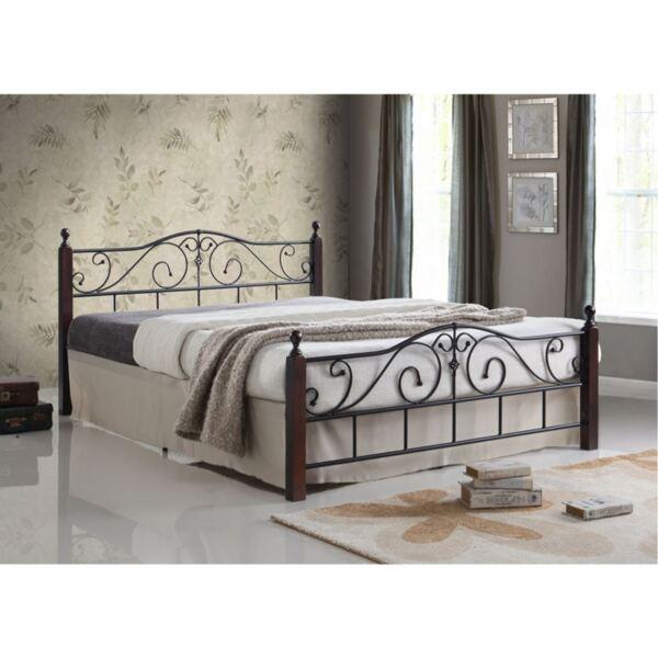 Метална спалня Адел 160Х200 в черно