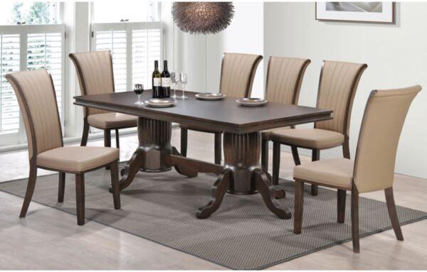Комплект маса със столове Самър