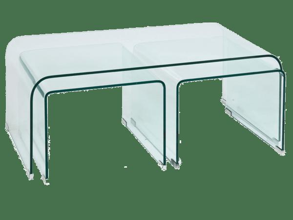 Стъклена холна маса Приам