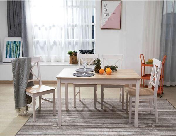 Комплект маса с 4 стола Дейли