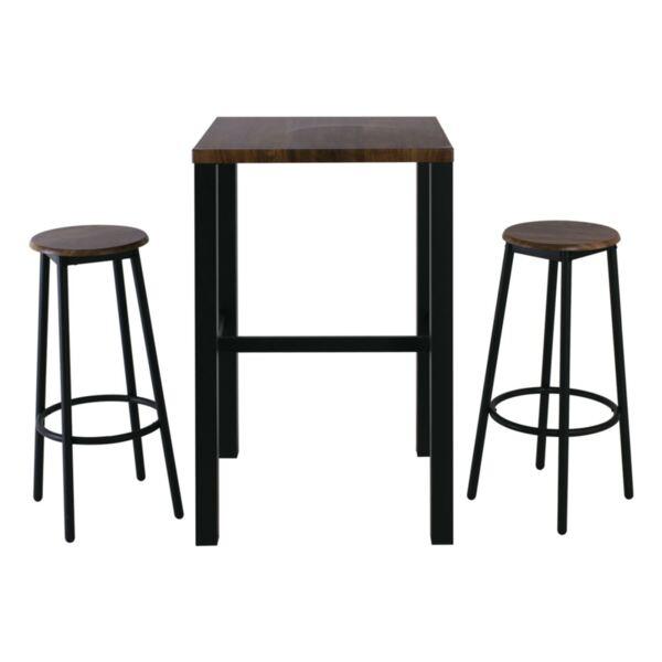 Комплект бар маса с 2 стола Майер