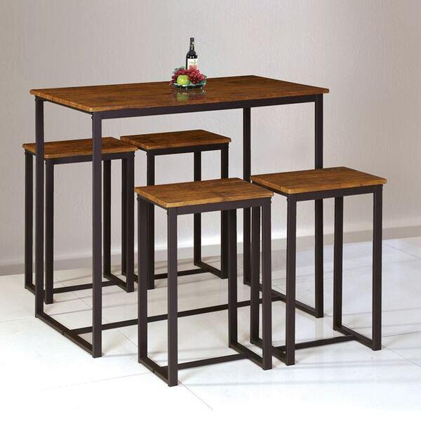 Комплект бар маса със столове Хенри