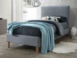 Тапицирано единично легло Акома в 2 цвята