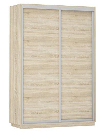 Двукрилен гардероб Кери с плъзгащи врати
