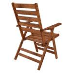 Сгъваем дървен стол Наксос