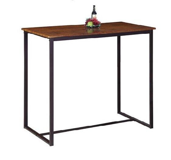 Бар маса Хенри в два цвята