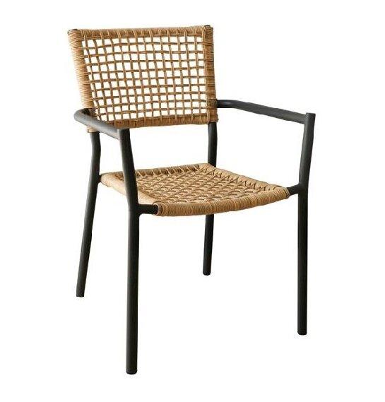 Градински стол Миранда в два цвята