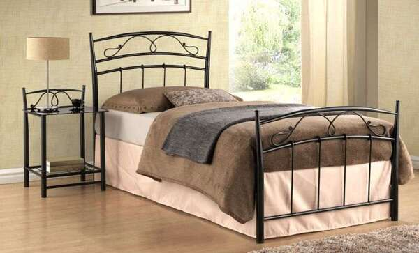 Спално легло Сиена в 2 цвята и 3 размера