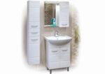 Горен шкафове за баня с огледало Мариса