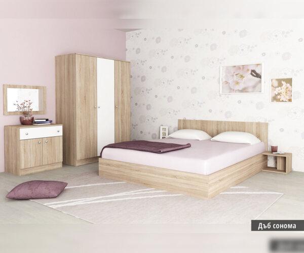 Спален комплект Мареа 1 160Х200 в 3 цвята
