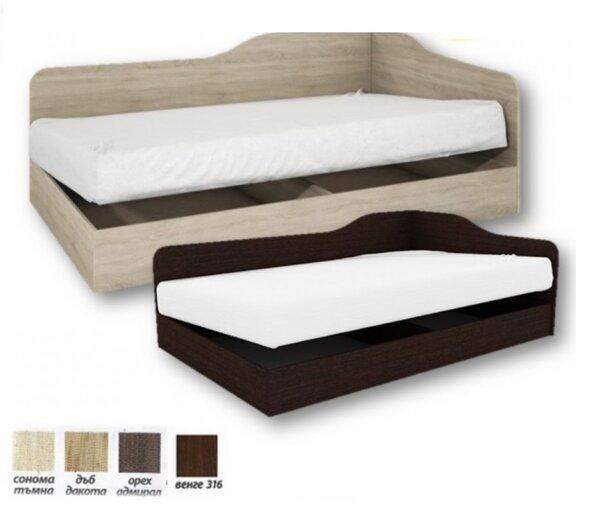 Единично легло Сити 2004 82x190 в 4 цвята