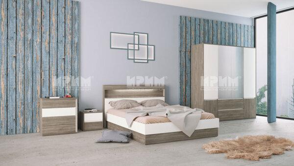 Спален комплект Сити 7009 160x200
